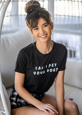 Can I Pet Your Dog - Comfy Tee
