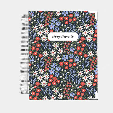 Colorful Floral | Ultimate Weekly Planner | 12 Month