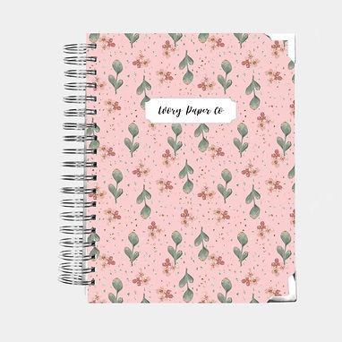 Teacher Lesson Planner - Pretty Pink