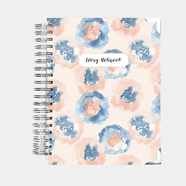 Notebook | Abstract Watercolor Floral