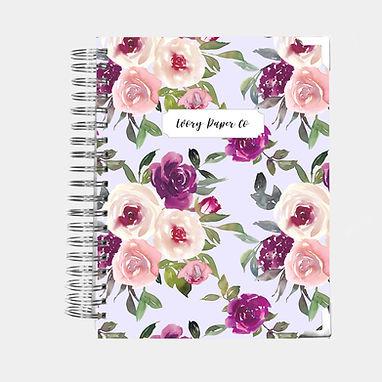 Lavender Watercolor | Ultimate Weekly Planner | 12 Month