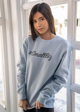 Small Biz - Comfy Sweatshirt - By Whole Kindness