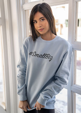 Small Biz - Comfy Sweatshirt - By Whole Kindness