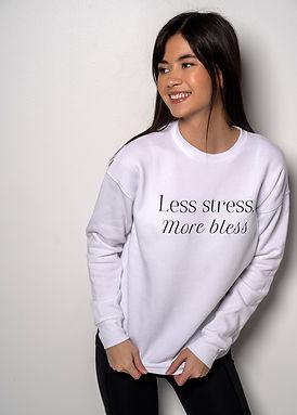 Less Stress - Comfy Sweatshirt