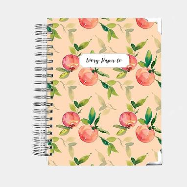 Coral Peach | Vertical Weekly Planner (12 Months)
