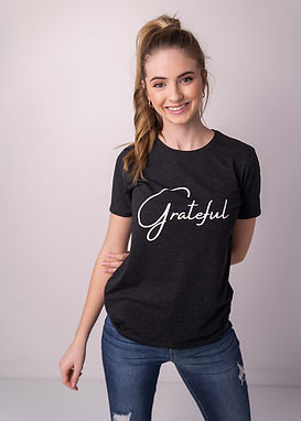 Grateful - Comfy Tee - By Whole Kindness