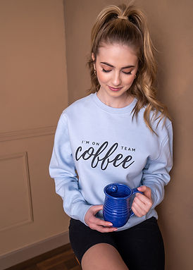 Team Coffee - Comfy Sweatshirt - By Whole Kindness