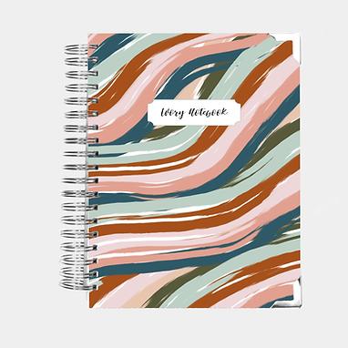 Notebook   Desert Wave