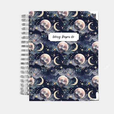 Hot Air Balloon | 12 Month Daily Planner