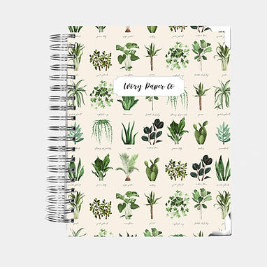 Light Plants | Vertical Weekly Planner (12 Months)