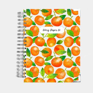 Mandarin | Vertical Weekly Planner (12 Months)