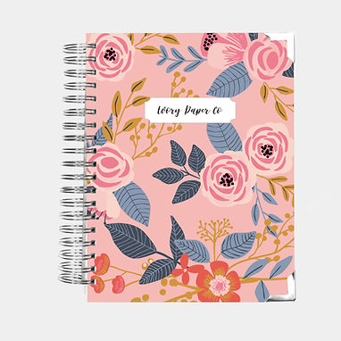 Pink Vintage | All-In-One Planner (Daily, Weekly & Monthly)