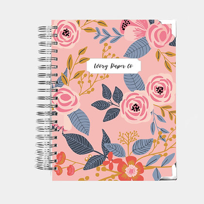 Pink Vintage | Ultimate Weekly Planner | 12 Month