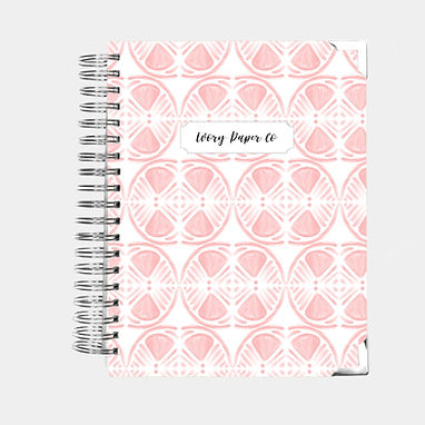 Pink Lemon Slice | All-In-One Planner (Daily, Weekly & Monthly)