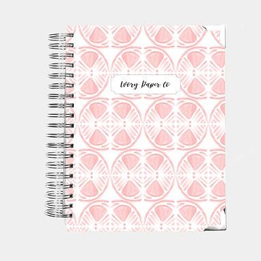 Budget Planner - 12 Months  - Pink Lemon Slices