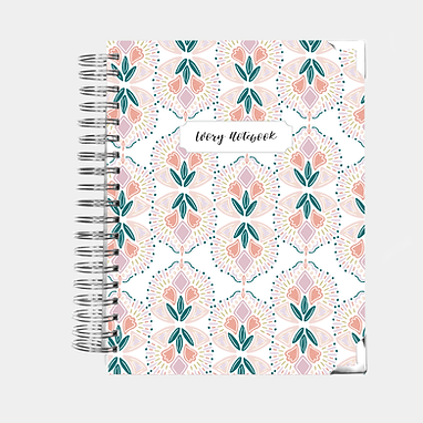 Notebook | Colorful Geometric