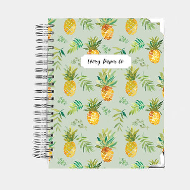 Pineapple | 12 Month Daily Planner