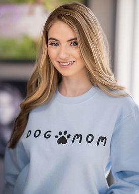 Dog Mom - Comfy Sweatshirt - By Whole Kindness