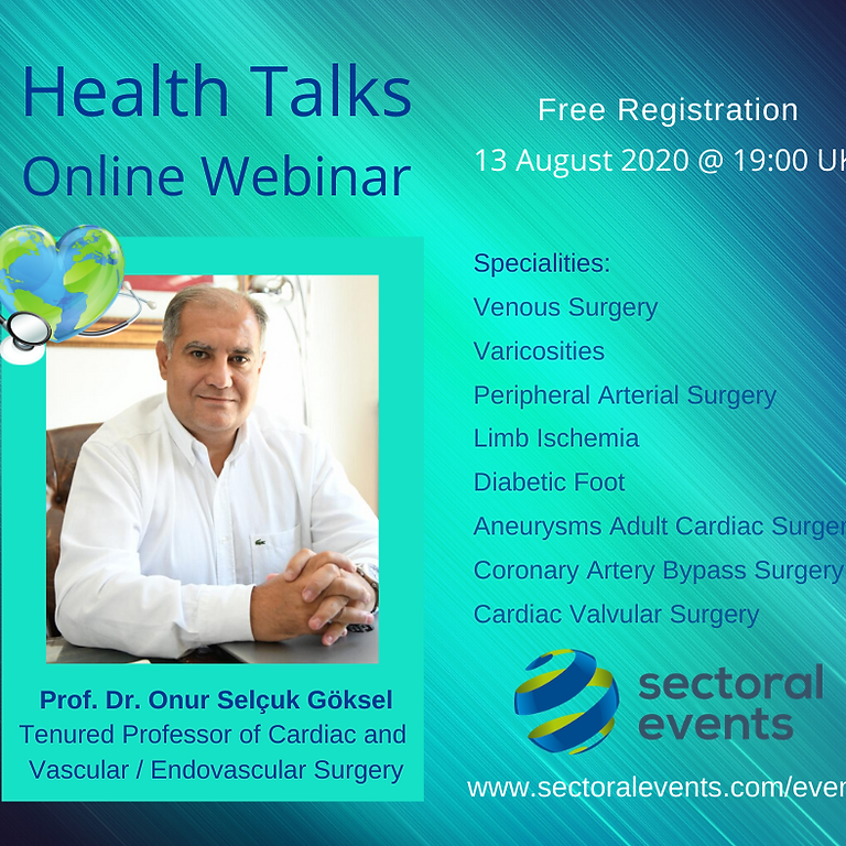 Health Talks - Online Webinar