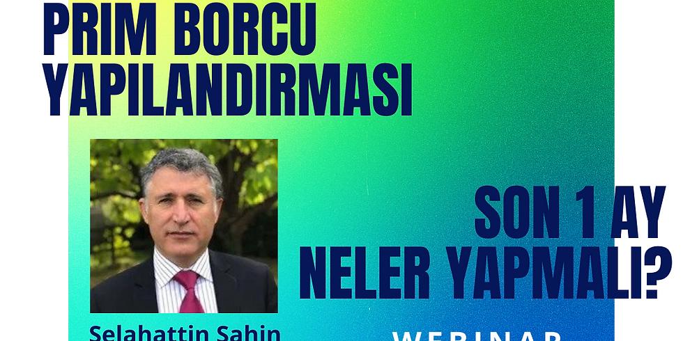 BAĞKUR PRIM BORCU YAPILANDIRMASI - WEBINAR