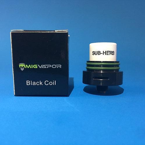 SUB-HERB BLACK COILS-(Mig Vapor)