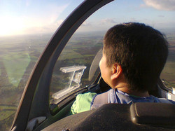 Gliding over Cambridgeshire