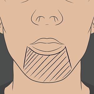 Tetování na bradě