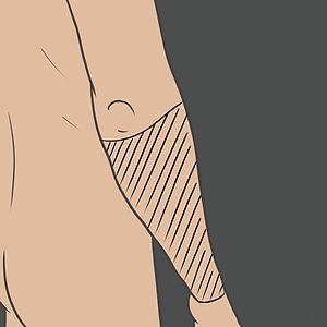 Tetování na celé předloktí (nátepník)