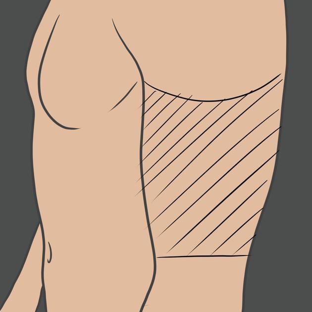 Tetování na pažní kosti