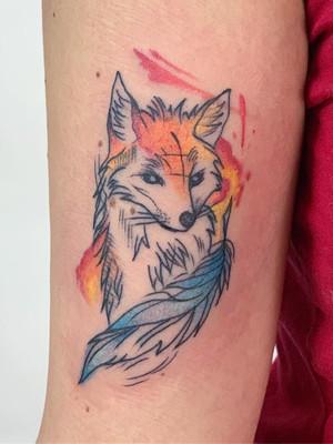 hand tattoo - watercolor tattoos - watercolor tattoos - black house tattoo prague