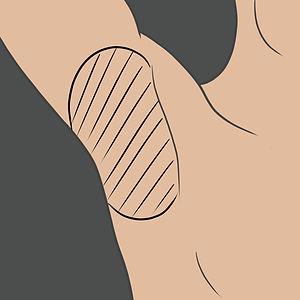 Tetování v podpaží