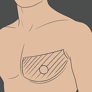 Tetování na spodní části hrudníku