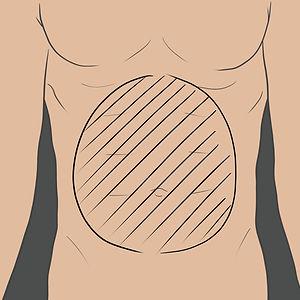 Tetování na břichu