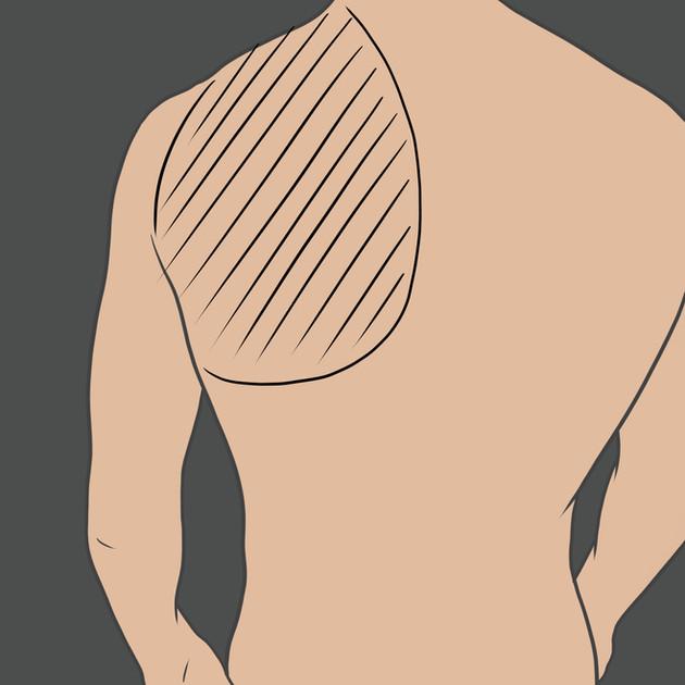 Tetování na lopatce