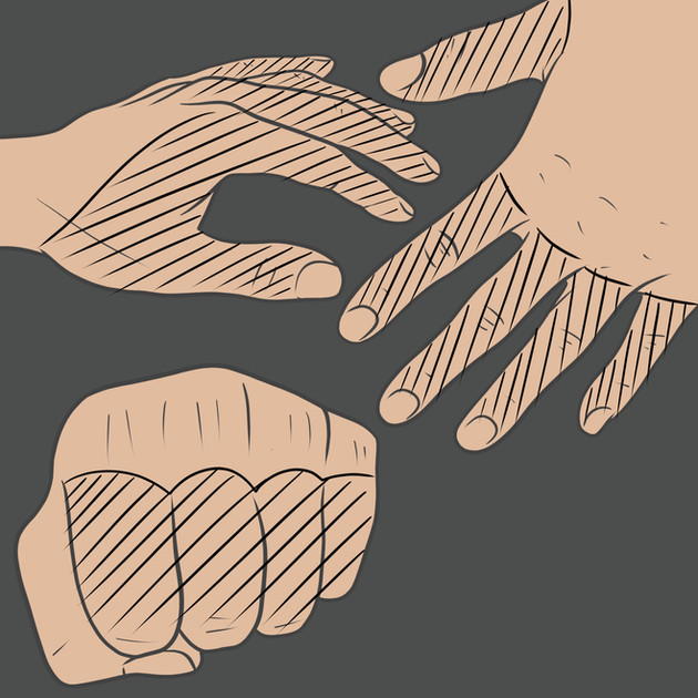Tetování na prst ruky