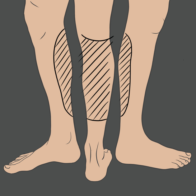 Tetování na lýtko