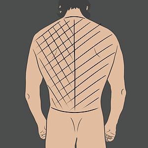 Tetování přes celá záda