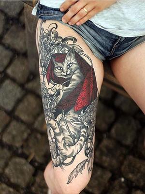 Tomcat du Tomcat - Tatouages de Dragon sur le dos - Tatouages japonais - Black House Tattoo Prague - Tatouages pour hommes - Tatouages pour femmes