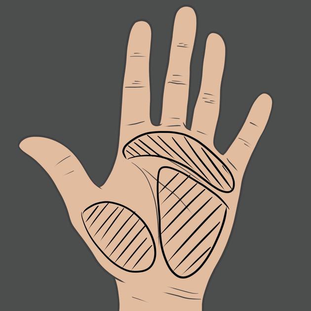 Tetování na dlaň