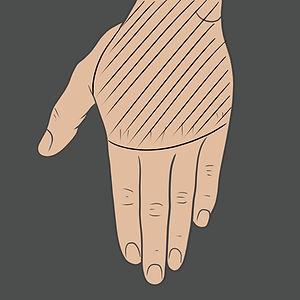 Tetování na hřbet ruky