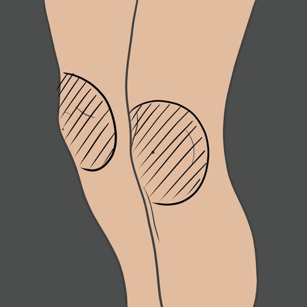 Tetování na koleno