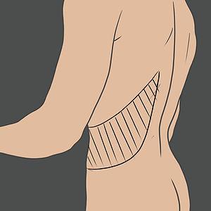 Tetování na boku