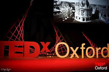 Abby Clarke, TEDx Oxford, New Theatre, Oxford, Design, TED talk, 2015