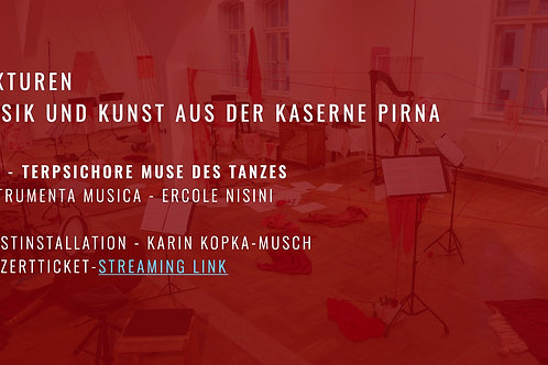 Konzert Ticket Terpsichore Muse des Tanzes