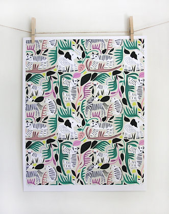 Jungle Forest Print