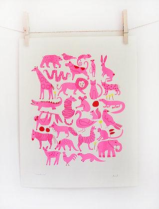 Creatures Print