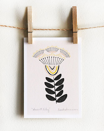 Desert Lily Print
