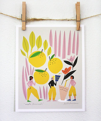 Make Lemonade Print