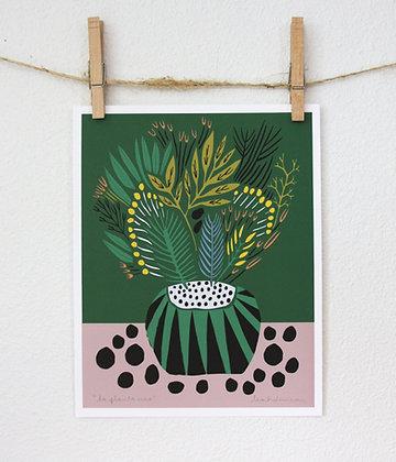 La Planta Uno Print