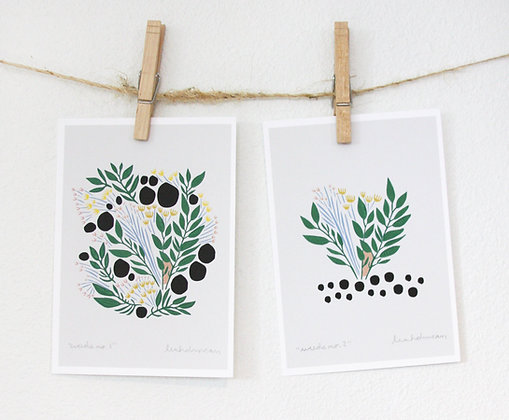 Weeds Print Set